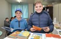 Gustavo e Igor: surpresa empolgou estudantes